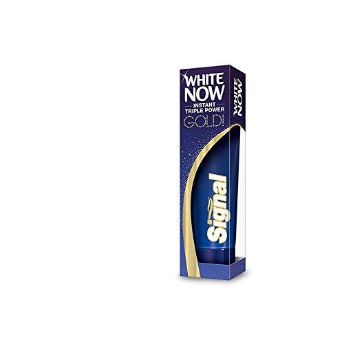 Signal White Now Gold  Toothpaste 50 Ml   1 6 Fl Oz  3 Pack