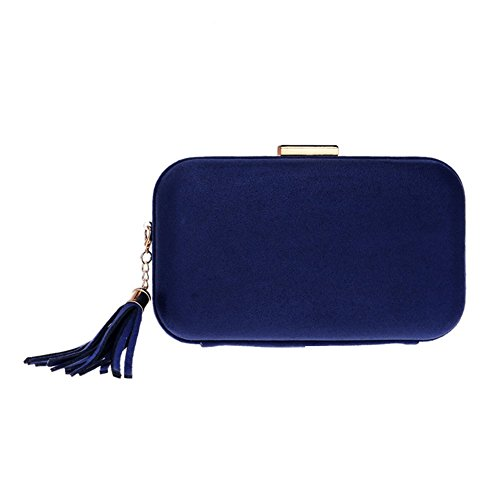 Fashion Clutch European QEQE Fashion Evening And Color 1 Bag 4 Women's Bag Banquet Evening Tassel American wxUaUn0q7r