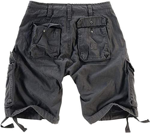 Pantaloncini Lavati Oliva Beige Airborne Vintage Lavato Uomo Surplus wqUx11