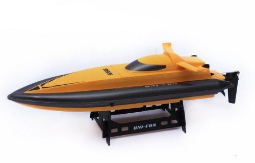 18.5 Radio Remote Control Speed Racing Boat 955 w/Water Cooling System R/C Ready To Run (Yellow) by Huanqi Midea Tech