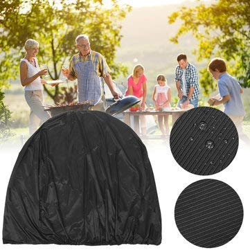 Bbq Grill Cover Waterproof Protected Resistant Stitching Inch Storage - 1PCs