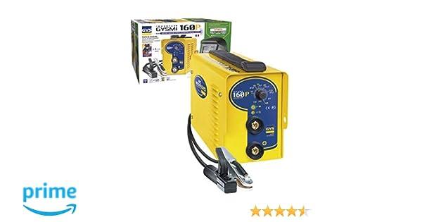 GYS Pack Inverter MMA 160P+Pantalla LCD Techno 11, 230 V: Amazon.es: Bricolaje y herramientas