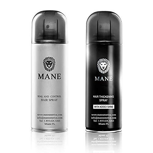 Mane USA Hair Thickener Spray Combo (200ml) (Dark Brown)