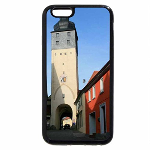 iPhone 6S / iPhone 6 Case (Black) Memories Wuerzburger Tor