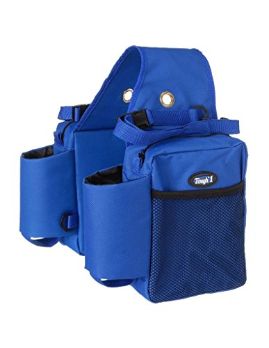 Nylon Mesh Carrier Bottle (Tough 1 Nylon Water Bottle/Gear Carrier Saddle Bag, Royal Blue)