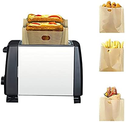 kati-way Toaster Bag bolsa Panificadora Toast bolsita tortillas en ...