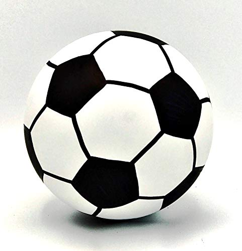 Gender Reveal Soccer Ball for Baby Gender Reveals (Blue)]()