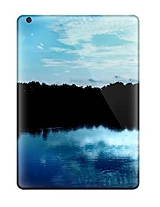 Ipad Air Cover Case - Eco-friendly Packaging(blue Sky Reflections)