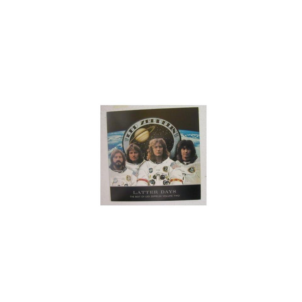 Led Zeppelin Poster Latter Days Band Shot OLDER Astronauts Robert Plant Jimmy Page John Paul Jones John Bonham