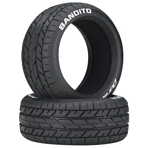 Duratrax Bandito 1:8 Scale Buggy Tires with Foam Inserts, C2 Soft Compound, Unmounted (Set of 2) ()