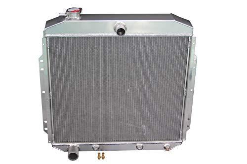 ZC5356 New 3 Rows All Aluminum Radiator Fit 1953-1956 Ford F-100 Truck Pickup