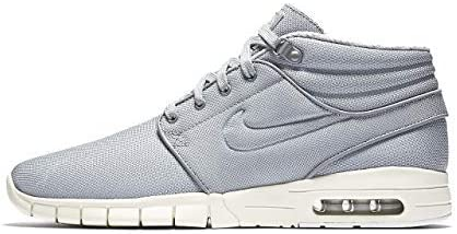 Nike Stefan Janoski MAX MID Mens Fashion-Sneakers 807507-004/_7.5 Wolf Grey//Wolf Grey-Cool Grey
