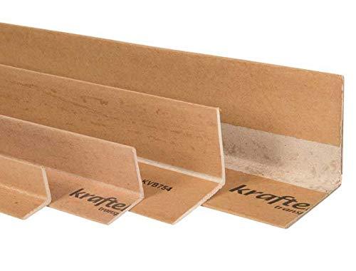 Priory Direct Tableaux de Bord Kraftek en Carton Brun Enti/èrement Recyclables et R/éutilisables 35 x 35 x 1000mm Paquet de 50