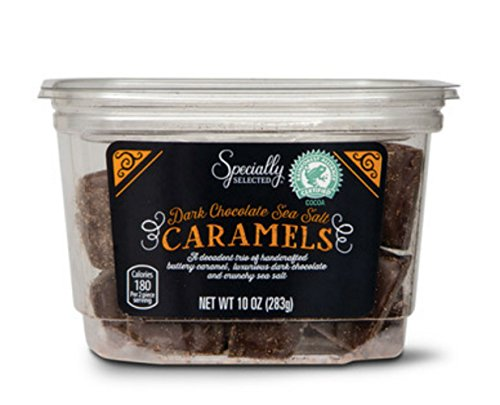 Specialty Selected Dark Chocolate Covered Sea Salt Caramels