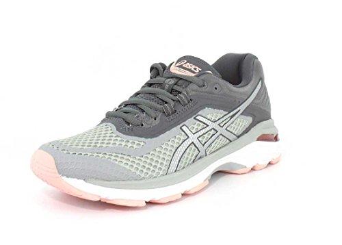 Asics Frauen Gt-2000 6 Schuhe Mid Grey/Silver/Carbon