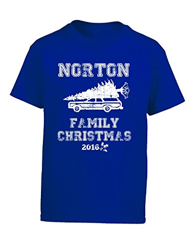 norton-family-christmas-2016-gift-for-the-holidays-kids-t-shirt-kids-m-royal