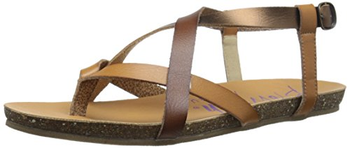 (Blowfish Women's Granola Sandal, desert bronze whiskey, 7.5 M)