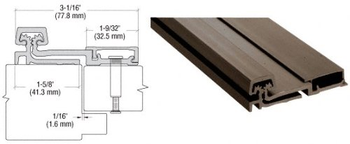 Dark Bronze Anodized 150 Series Heavy-Duty Full Surface Continuous Hinge - 83
