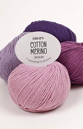 DROPS Merino de algodón: Amazon.es: Juguetes y juegos