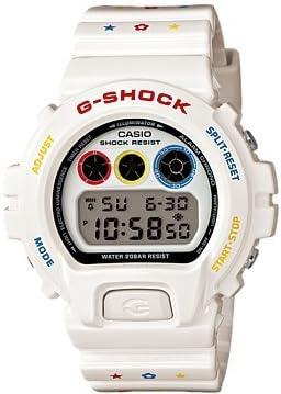 [カシオ] 腕時計 ジーショック 30th Anniversary Collaboration seriese 30周年記念 コラボレーションシリーズ G-SHOCK × MEDICOM TOY コラボレーションモデル DW-6900MT-7JR ホワイト