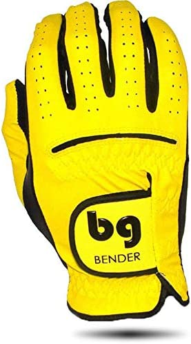 Synthetic Cabretta Leather Golf Gloves for Men, Left Handed Golfing Worn on Right Hand – BenderGloves