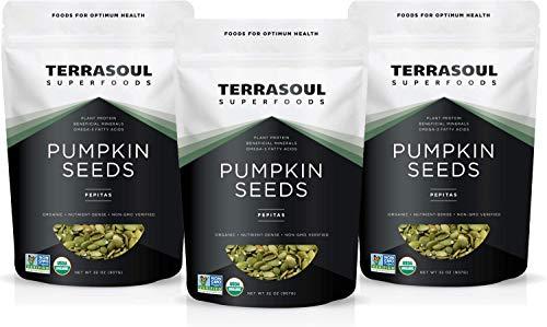 Terrasoul Superfoods Organic Pumpkin Seeds, 6 Lbs - Premium Quality | Fresh | Raw | Unsalted