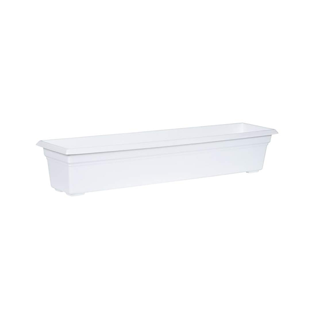 Countryside Flower Box Planter, White, 36-Inch