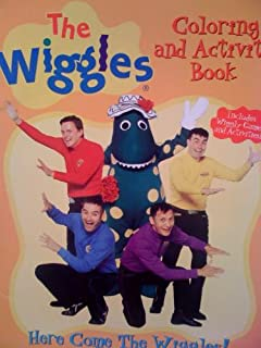 here come the wiggles the wiggles coloring and activity book - Wiggles Pictures To Print