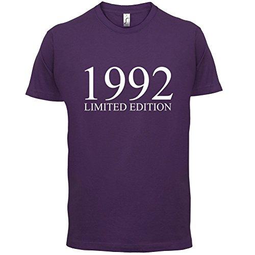 1992 Limierte Auflage / Limited Edition - 25. Geburtstag - Herren T-Shirt - Lila - XXL