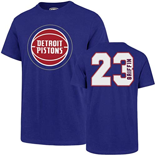 - NBA Detroit Pistons Blake Griffin Mens Player OTS Rival Teenba Player Rival Tee, Blake Griffin - Royal, XX-Large