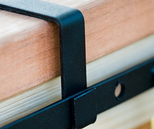 Deluxe Deck Rail Brackets (2x4 Railing) by Windowbox (Image #2)