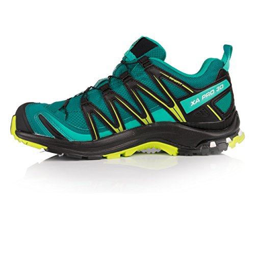 XA Black de 000 GTX Bleu Pro Trail 3D Lime Lake Chaussures Bleu Deep Salomon Green Femme XX 4nRSqgW4
