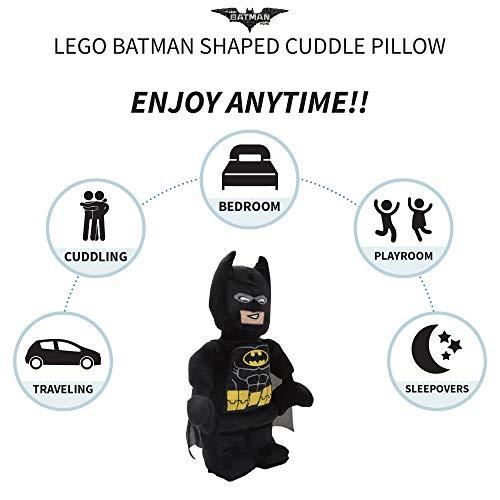41o3HHLKJnL - Franco Kids Bedding Super Soft Plush Snuggle Cuddle Pillow, Lego Batman