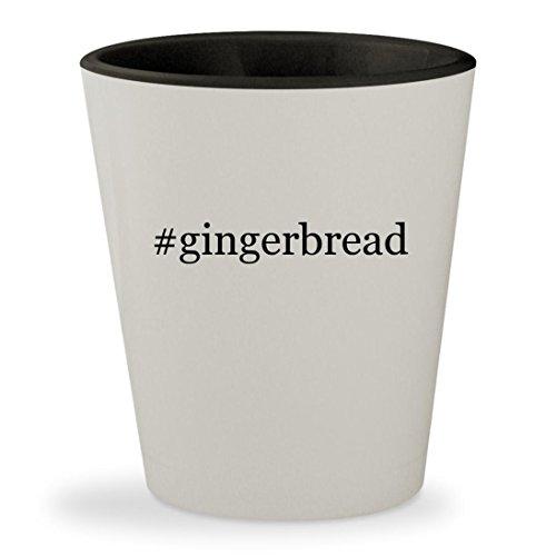 Ginger Snaps Movie Costume - #gingerbread - Hashtag White Outer & Black Inner Ceramic 1.5oz Shot Glass