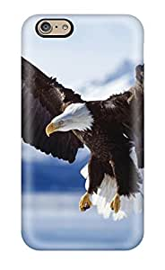 DPatrick Case Cover For Iphone 6 - Retailer Packaging Bald Eagle In Flight Alaska Protective Case
