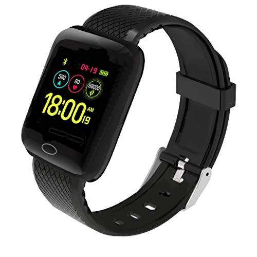 """Infinizy (1+1 Year Warranty) Smart Watch 1.3"""" Full Touch Men Women Fitness Tracker Blood Pressure Heart Rate Monitor…"""