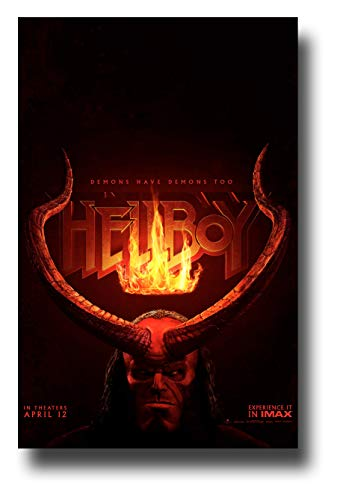 Hell Poster Movie - Hellboy Poster Movie Promo 11 x 17 inches Horns Demons Have Demons Too