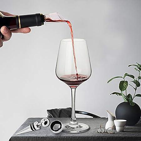 Tapón de Vino Tinto Tapones de vino / Tapón de Botella de Reutilizable para Sellar y Conservar Vino Cerveza Vino Espumoso / 6 Piezas