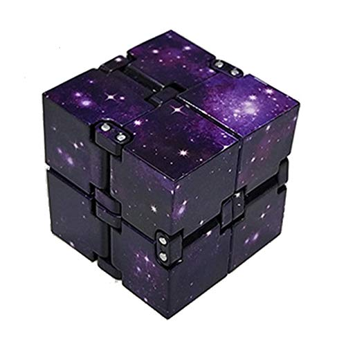 (May Bob Infinity Cube Fidget Toy Finger Toy Stress and Anxiety Relief, Killing Time Unique Idea Cool Mini Gadget for Adults and Kids )