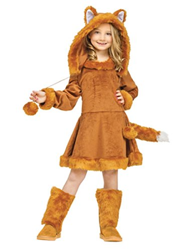 Make At Home Kids Halloween Costumes (Sweet Fox Kids Costume)