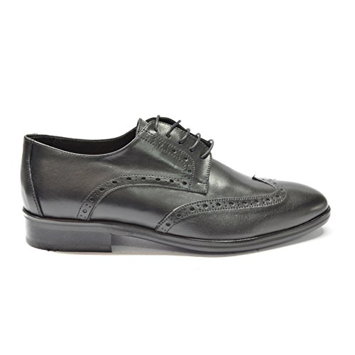DRUDD USCADEN Blk - Men's Black Leather Oxford Dress Wedding shoes, with leather sole, Men US 11 by DRUDD