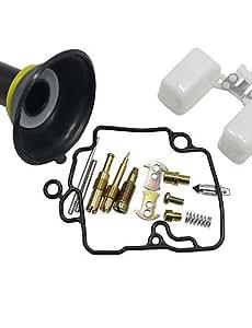 NBCVFUINJ® Kit de reparación carburador carburador ciclomotor scooter gy6-50cc reconstruir accesorio