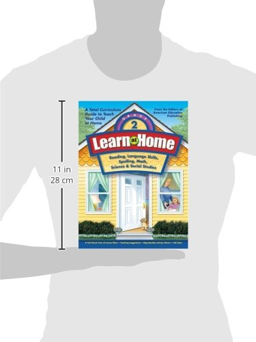 Learn at Home, Grade 2: Reading, Language Skills, Spelling, Math ...