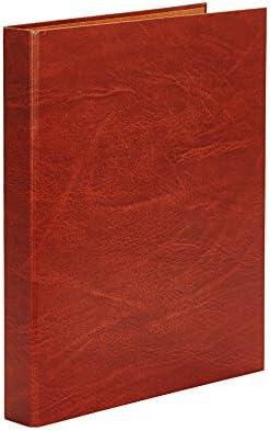 2 anillas de 40mm Carpetas Pardo 274000 color cuero