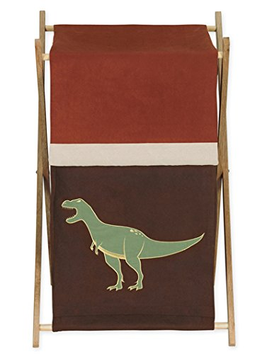 Sweet Jojo Designs Baby and Kids Clothes Laundry Hamper for for Dinosaur Bedding by Sweet Jojo Designs