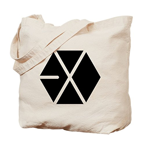 CafePress–Exo–Gamuza de bolsa de lona bolsa, bolsa de la compra Medium caqui