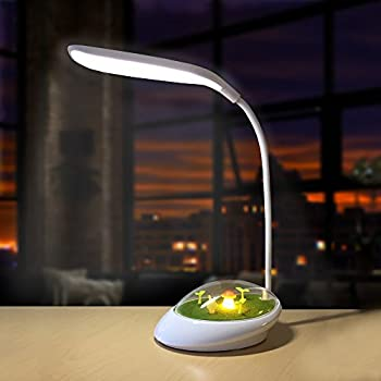 Amazon Com Luxlumi Mushroom Led Nightlight And Desk Lamp