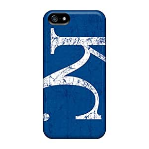 JasonPelletier Iphone 5/5s Best Hard Phone Covers Custom Realistic Kansas City Royals Pattern [Qbb3216efzx] hjbrhga1544