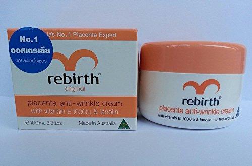 Rebirth Placenta Anti-wrinkle Cream with Vitamin E 1000iu...