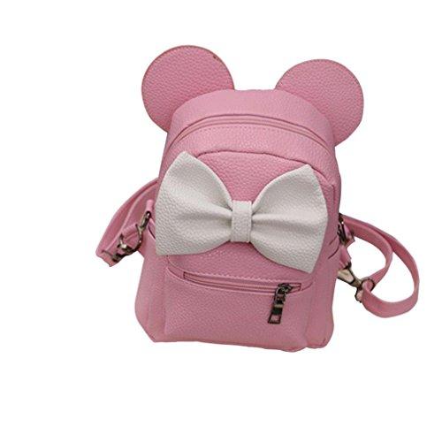 USHOT 2018 New Mickey Backpack Female Mini Bag Women's Backpack